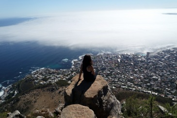 Cape Town Lion's Head View over Greenpoint