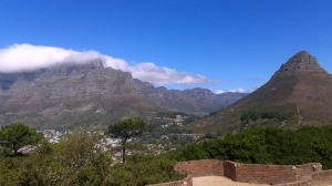 Table Mountain Lions Head View
