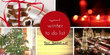 personal winter bucket list