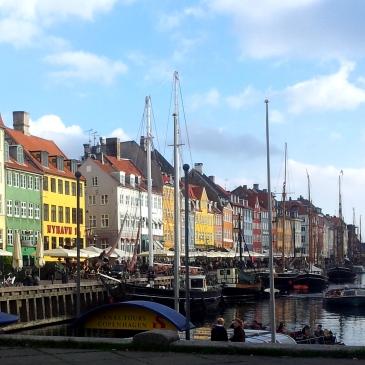 Nyhavn Copenhagen Sunshine