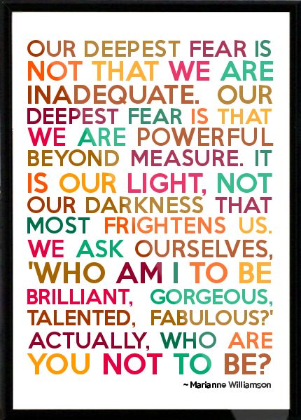 Our-deepest-fear-Marianne-Williamson
